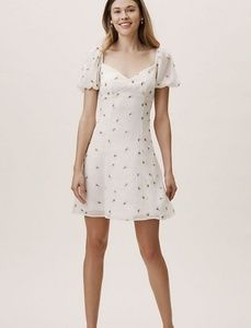 Anthropologie Sweetheart Floral Dress